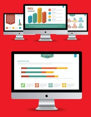 Thumbnail for Chart Infographics Keynote