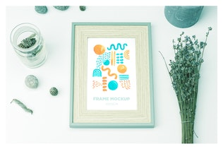 Thumbnail for Clean Picture Frame Mockup