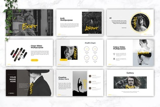 Thumbnail for EXIFT - Creative Keynote Template