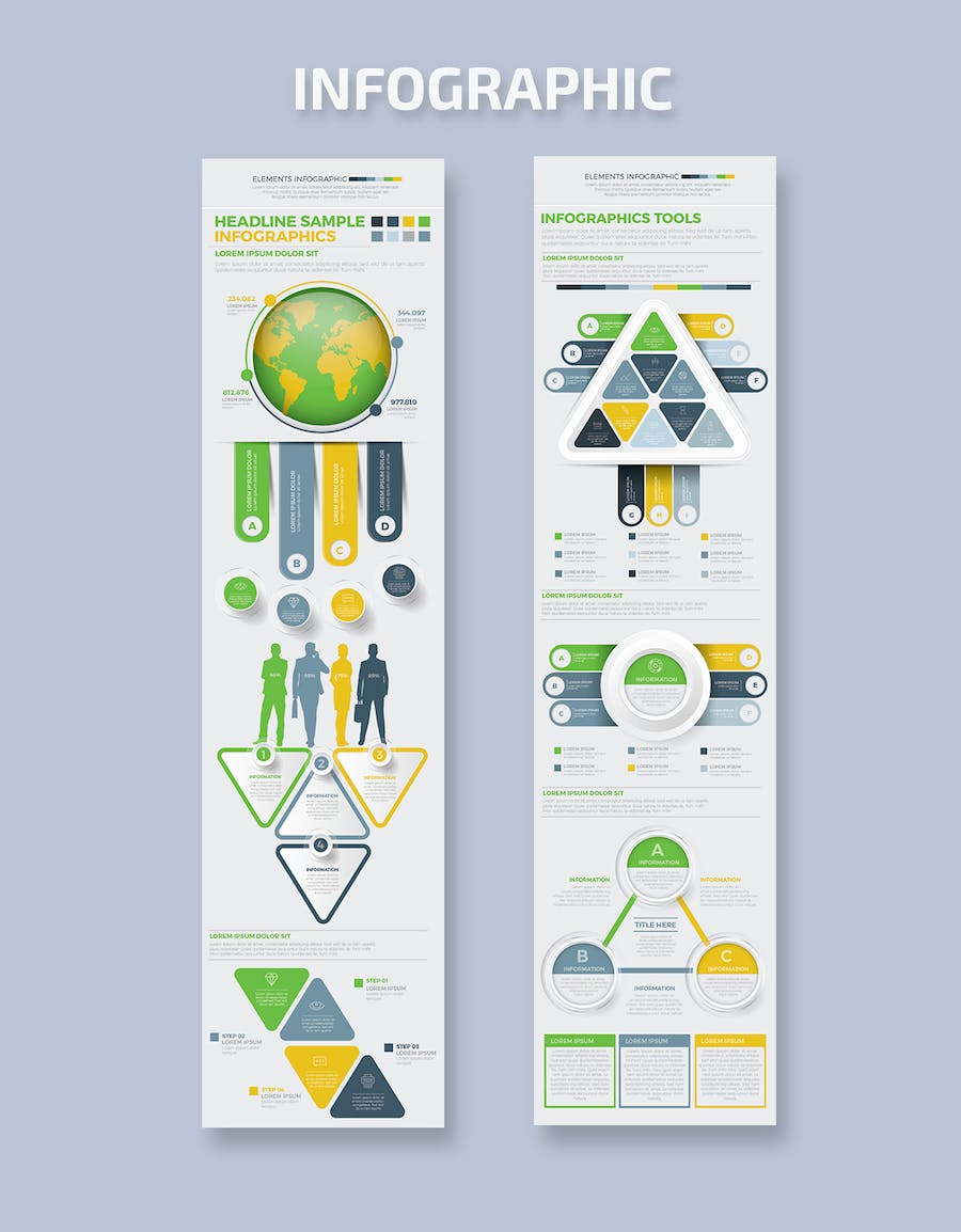 Infographics Template Design - product preview 2