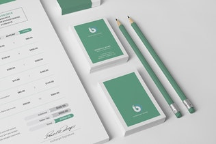 Thumbnail for Branding Identity / Stationery Pack