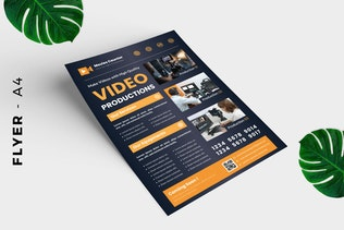 Thumbnail for Video Production Flyer Design