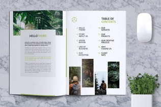 Thumbnail for Business Brochure Template Vol. 01