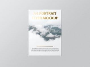 Thumbnail for A4 Portait Flyer / Letterhead Mockup