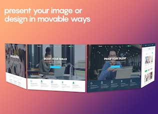 Thumbnail for Perspective Image Screen Mockups 3.0