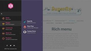 Thumbnail for Superfly — Responsive WordPress Menu Plugin