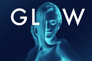 Thumbnail for Glow in the dark Photoshop Actions