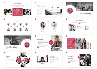 Thumbnail for Chronicle - Business Powerpoint Template