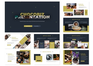 Thumbnail for Chocobiz | Powerpoint Template