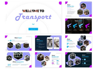 Thumbnail for Transport | Google Slides Template