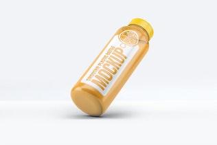 Thumbnail for Smoothie Plastic Bottle Mock-Up
