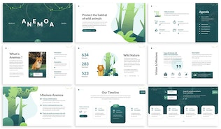Thumbnail for Anemoa - Nature Powerpoint Template
