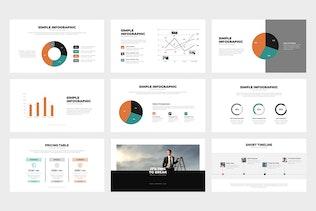 Thumbnail for Denera : Creative Business Powerpoint Template