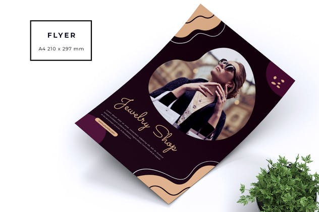 Jewellery Shop Flyer - product preview 1
