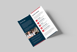 Thumbnail for Brochure – Auto Repair Bi-Fold DL
