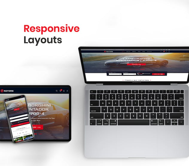 Automotive Website Template - product preview 6