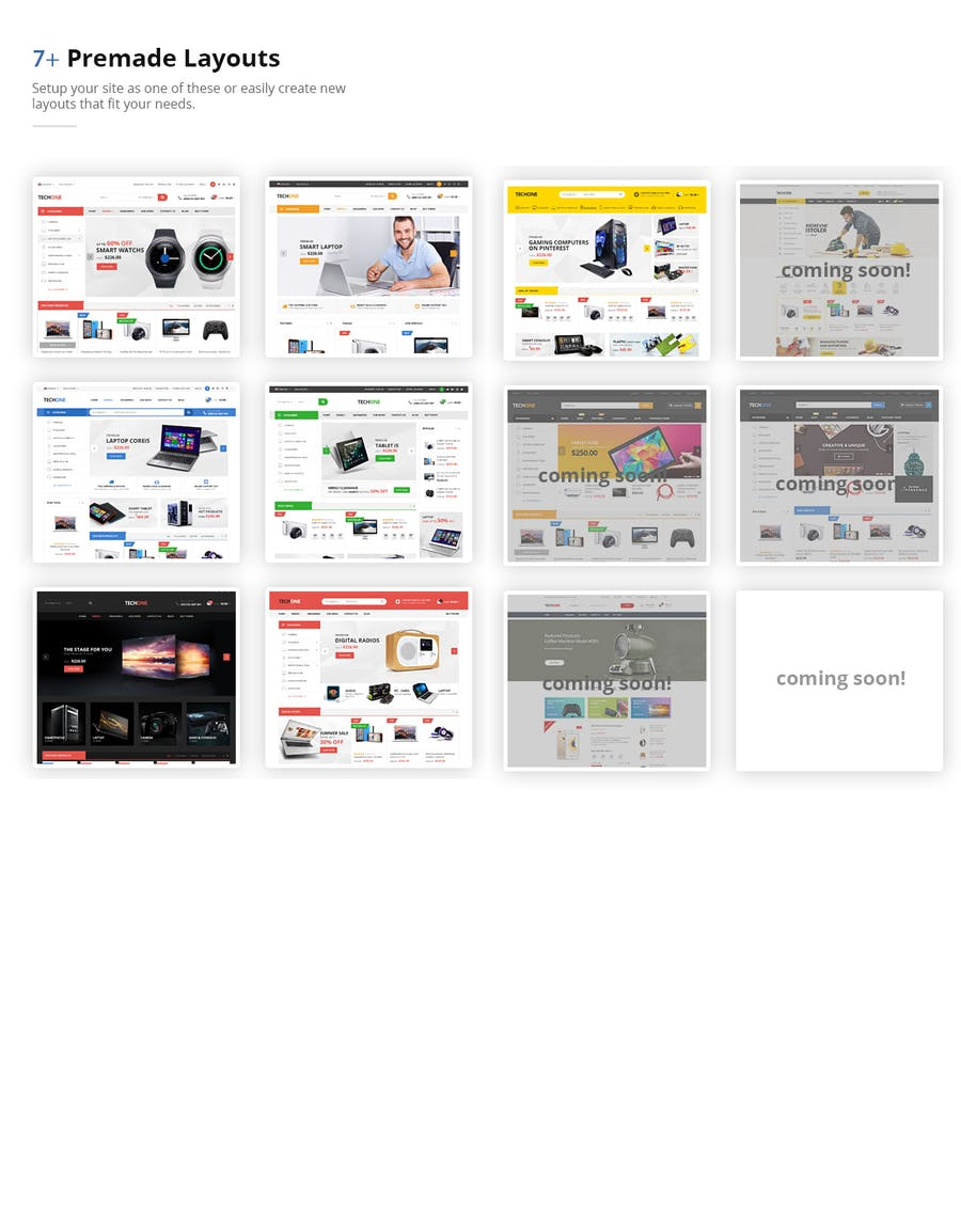 Techone - Responsive Prestashop 1.7 Theme - product preview 1
