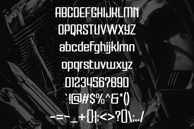 Saito - Vintage Garage Fonts - product preview 1