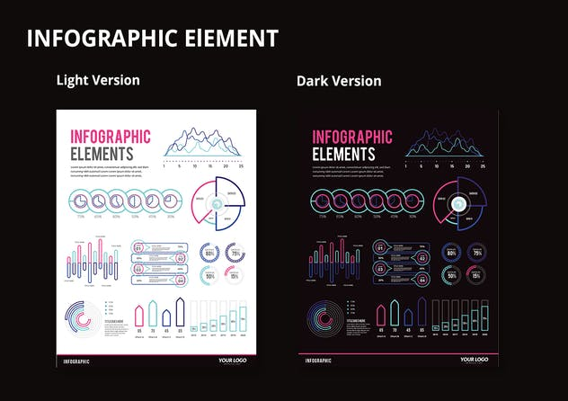 Infographic Examples for Designer V.48 - product preview 2
