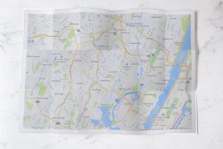 Thumbnail for City Guide & Map Mockup