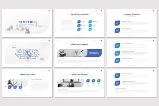 Thumbnail for Symetric - Keynote Template