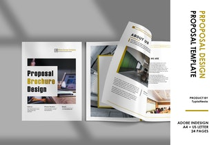 Thumbnail for Company Profile / Proposal Brochure Design