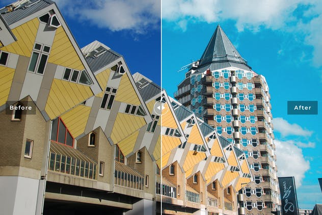 Rotterdam Mobile & Desktop Lightroom Presets - product preview 4