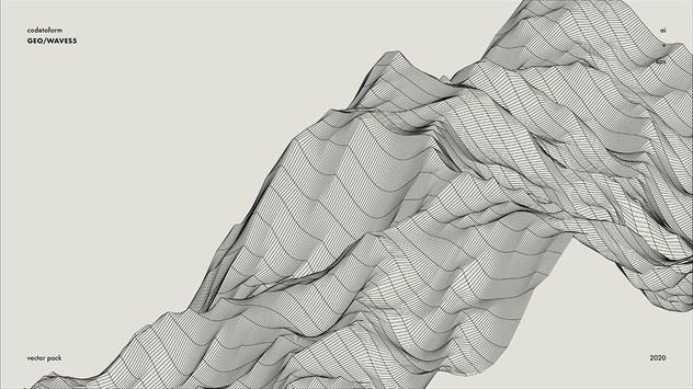 GEO_WAVES5 Vector Pack - product preview 3