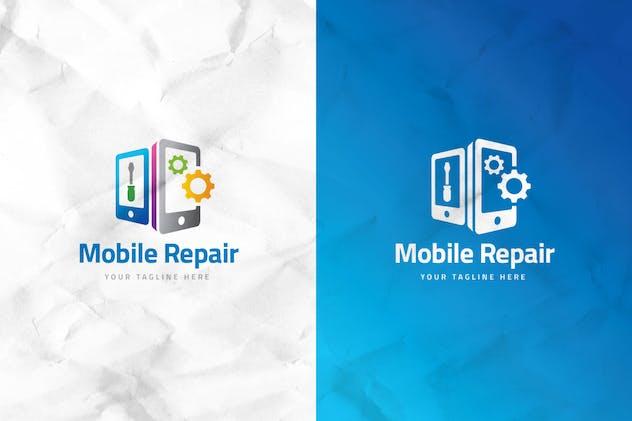 Mobile Repair Logo Template - product preview 0