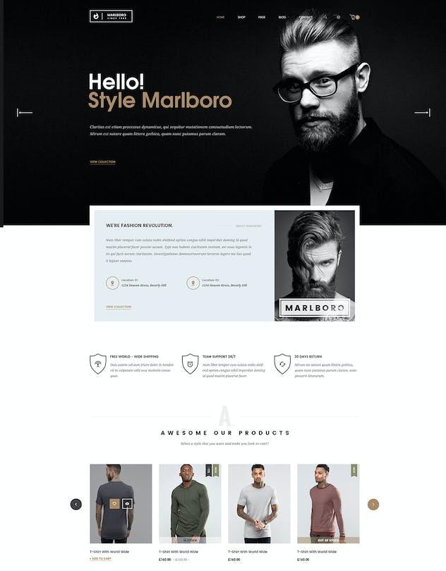 Marlboro- Multipurpose Responsive Prestashop Theme - product preview 4