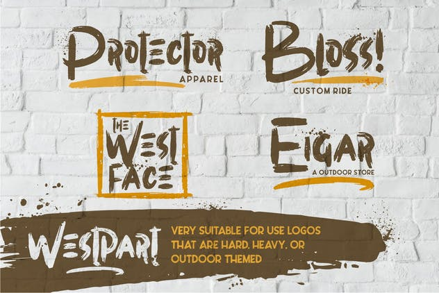 Westpart | Brush Font - product preview 2