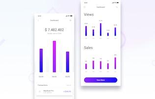 Thumbnail for Brake UI Kit 2.0 - Dashboard & Statistics
