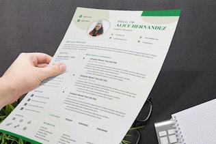 Thumbnail for Female Resume / CV Pro