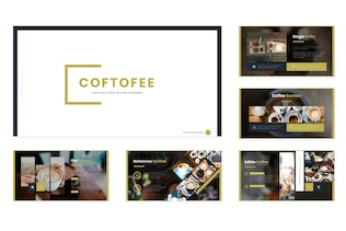 Thumbnail for Coftofee - Google Slides Template