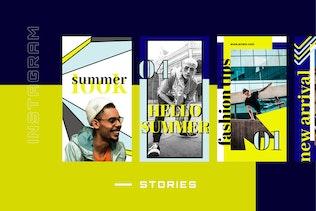 Thumbnail for Erram - Instagram Stories Template