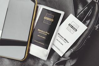 Thumbnail for Business Card Holder Scene Mockup