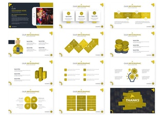 Thumbnail for Lanterns   Powerpoint Template