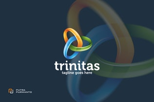 Thumbnail for Trinitas - Logo Template