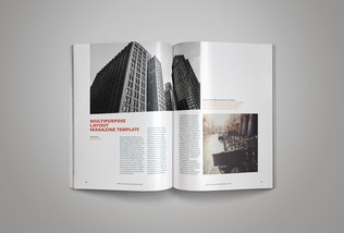 Thumbnail for 26 Pages InDesign Magazine Template