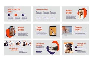 Thumbnail for Pets and Veterinary Clinic Google Slides Template