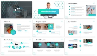 Thumbnail for Molecula - Medical Powerpoint Template