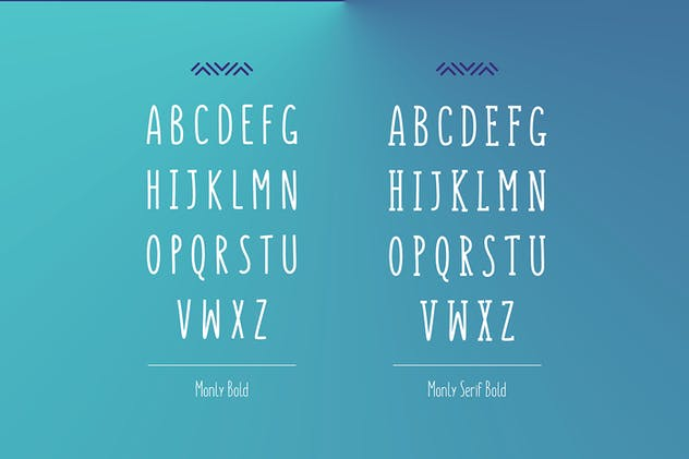 Monly Font - product preview 3