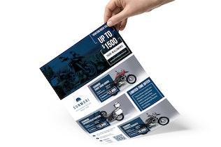 Thumbnail for Sunmori : Automotive Dealer Promotion Flyer