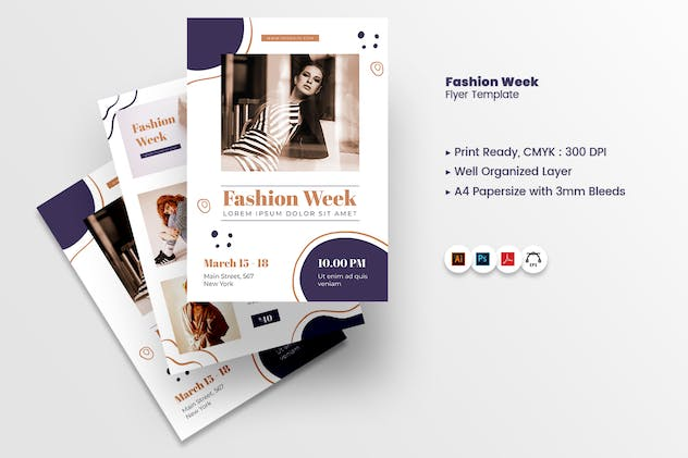 Fashion Week Flyer - product preview 6