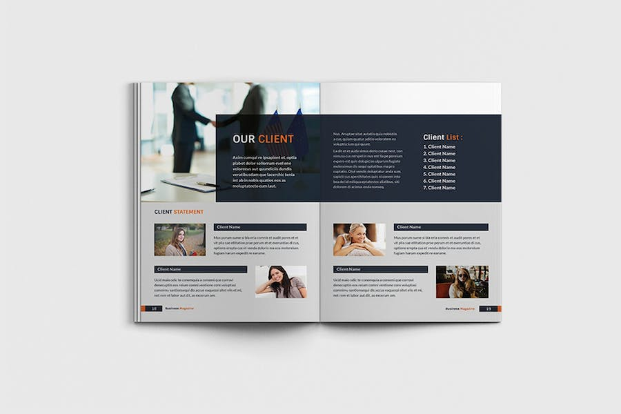 Workfice - A4 Business Brochure Template - product preview 9
