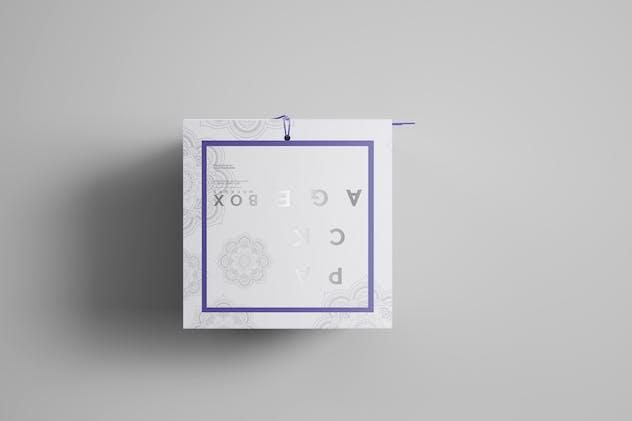 Square Package Box Mockups Vol1