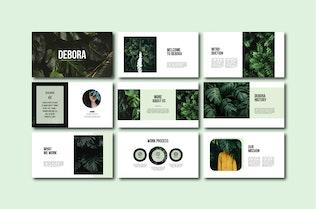 Thumbnail for Debora - Powerpoint Templates