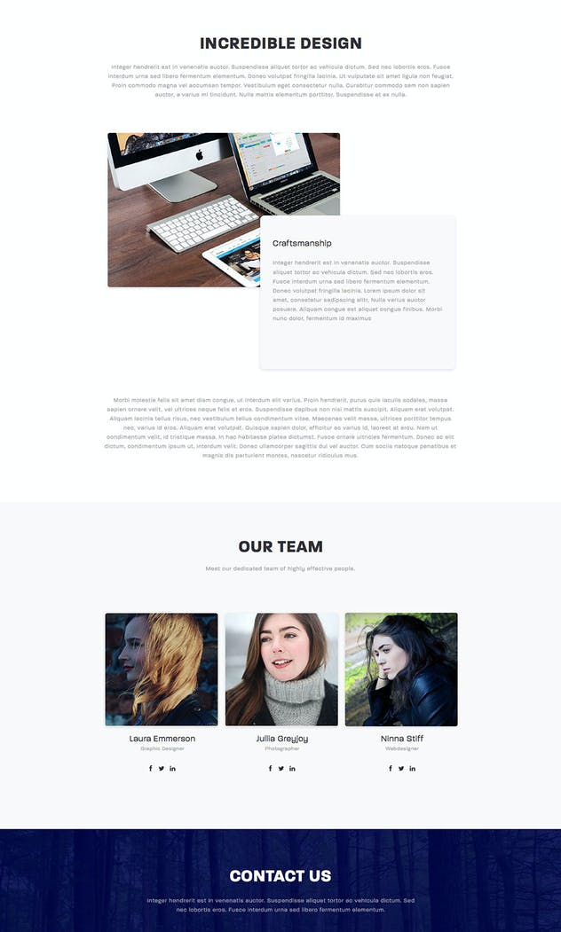 Stellar - Responsive Muse Template - product preview 1
