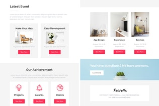 Thumbnail for Tessella - Responsive Email + StampReady Builder