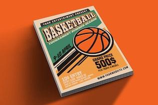 Thumbnail for Basketball Tournament Vintage Style